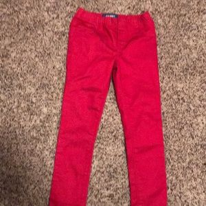 Red jeans!